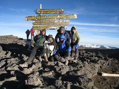 The Top of Kilimanjaro by Governor Gary Johnson, via Flickr #GaryJohnson #Presidential #Candidate for #2012 #Libertarian means I stand for personal liberties!!