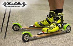 ESQUÍ SOBRE RUEDAS: Woodrollerski: Un roller ski de madera, por qué no?