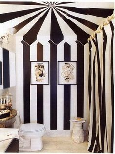 Tim Burton/ Circus Bathroom not for me but I have to say it's kinda cool