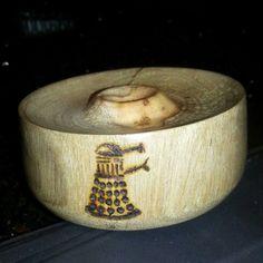 Dalek  bowl. Rhododendron. LOTBD. 2014
