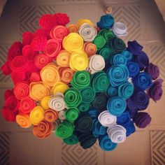 """""""Make your own bouquet"""" flowers."""