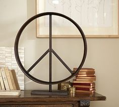 Peace Sign #potterybarn