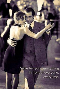 ❤️Awww this is just beautiful, to dance in the arms of the man who adores you ❤️