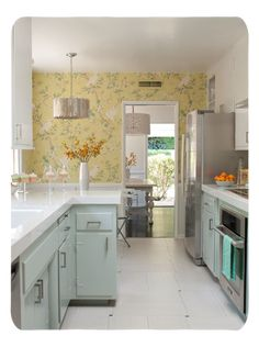Mixing old & older: Kristen and Paul create an artsy, retro home on on