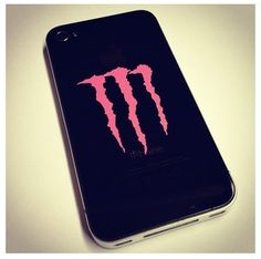Monster energy drink phone case