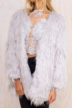 Material: Faux Fur Length: 75cm