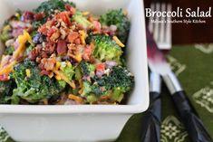 Melissa's Southern Style Kitchen: Broccoli Salad