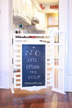 Bookcase Repurposed: 3 uses!