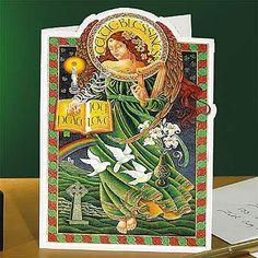Catholic Books, movies and CD's. Religious and inspirational gifts. Christmas In Ireland, Irish Christmas, Christmas Angels, Christmas Cards, Merry Christmas, Irish Design, Irish Art, Irish Celtic, Irish Wedding