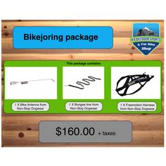 Bikejoring Package