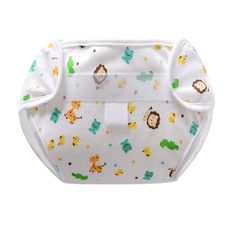 Reusable 100% Cotton Nappies Cloth Diaper Washable Infants Children Training Pants Nappy Changing 1Pcs Cute Baby Diapers #Affiliate