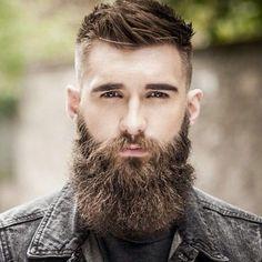 Hair Beard Models - Frisuren - Bartformen: High Taper Fade + Spiky Hair + L . - Lance Prejean - - Hair Beard Models - Frisuren - Bartformen: High Taper Fade + Spiky Hair + L . Faded Beard Styles, Long Beard Styles, Beard Styles For Men, Hair And Beard Styles, Epic Beard, Sexy Beard, Full Beard, Bart Styles, New Beard Style
