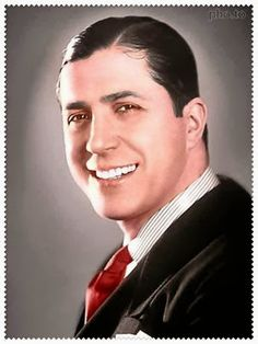 Portrait of Carlos Gardel by José María Silva in 1933 [colorized]. Gardel (1890–1935) was a French Argentine singer, songwriter, composer, and actor—and the most prominent figure in the history of tango.