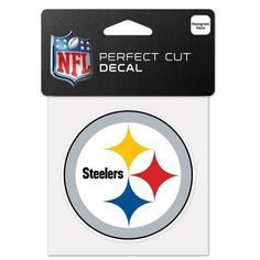 NFL Steelers Perfect Cut Decal – 460 Sports