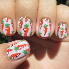 StephsNailss: Easter Carrots!