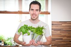 Jak uchovat bylinky na zimu? Zkuste tenhle chytrý fígl! Korn, Sprouts, Herbs, Gardening, Vegetables, Lawn And Garden, Herb, Vegetable Recipes, Veggies