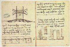 Genius Leonardo proposed a bridge to span across the Golden Horn in Istanbul. leonardo-bridge-2
