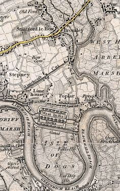 The East London History Society -- Bow, Bromley and Poplar Maps
