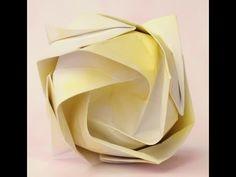 Origami - Como hacer una rosa (Nicolas Delgado)  ***