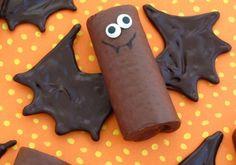lustige Fledermaus aus Schoko-Kekse