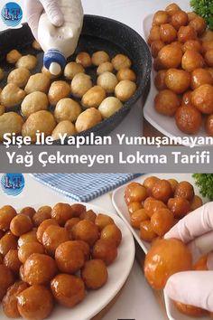 Baklava Cheesecake, Cookie Recipes, Dessert Recipes, Gulab Jamun, Pastry Cake, Turkish Recipes, Frozen Yogurt, Food Preparation, Food Art