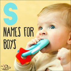 """""""S"""" names have always been a favorite, and with good reason -- they've got strength and softness and all the stuff a good name needs. http://thestir.cafemom.com/pregnancy/184685/striking_s_names_for_baby"""