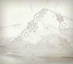 white lace . . .