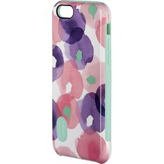 Modal - Dual-Layer Case for Apple® iPhone® 6 - Pink/Blue/White/Green - Larger Front