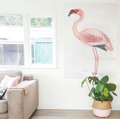 Pretty Flamingo IXXI! Get more inspiration at www.ixxidesign.com/inspiration #IXXI #ixxiyourworld #home #interior #DIY #inspiration #Flamingo #walldecoration #wallart #design #art #pretty #pink #pastel #interieur