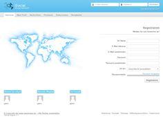 Social Network Skript ist ein in PHP geschriebenes interaktives Webprogramm, das zur Datenspeicherung eine MySQL Datenbank verwendet. Ausgabe mit Demoserver.