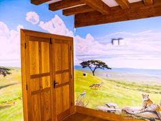 safari-mural-door-corner