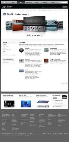 Apple - Logic Studio - Studio Instruments - Overview (09.01.2009)