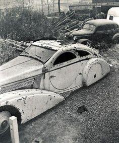The round-door Rolls eventually was found rotting in a New York junkyard.