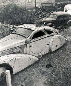 The round-door Rolls eventually was found rotting in a New York junkyard.