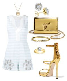 """Wedding guest"" by lladeinae on Polyvore featuring Peter Pilotto, Giuseppe Zanotti, David Yurman and Kobelli"