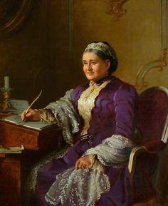 Brooks, Frank, (1854-1937), Agnes Bateman, 1921, Oil