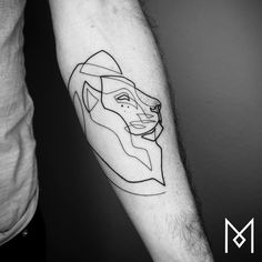 Tintentrend: Single Line Tattoos | look! - das Magazin für Wien