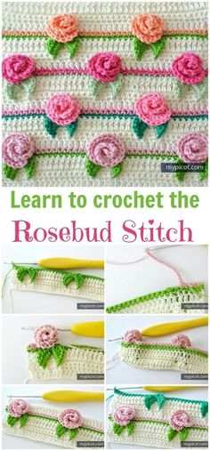 A Collection of Crochet Flower |