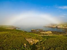 Fog-bow, Scottish Highlands