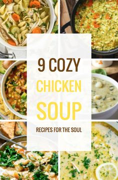 9 Cozy Chicken Soup Recipes for the Soul