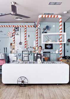 Rocambolesc - ¿Es una heladería o un labotatorio? - Calle Santa Clara 50, Girona