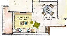 Não sabe como organizar os móveis na sala? | Simples Decoração | Simples Decoração