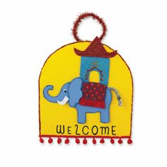 Thailand: Elephant Welcome Sign - The elephant attains old age and with it, wisdom. They are highly revered for their loyalty, strength and power. The Elephant is also considered a strong symbol of luck.