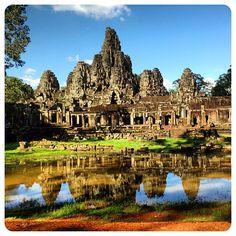 Bayon Temple in Angkor, Siem Reap