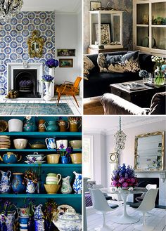 Photographer Catherine Gratwicke by decor8, via Flickr. Consider me inspired, it must be a Catherine/Kathryn thing.  (Especially the one on the bottom left, l love the mismatched dishes)