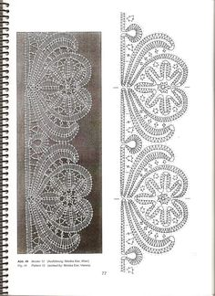 I wonder if I could adapt this for Bruges lace crochet. Hairpin Lace Crochet, Crochet Motif, Bolero Crochet, Crochet Edgings, Soutache Pattern, Bobbin Lacemaking, Bruges Lace, Bobbin Lace Patterns, Loom Patterns