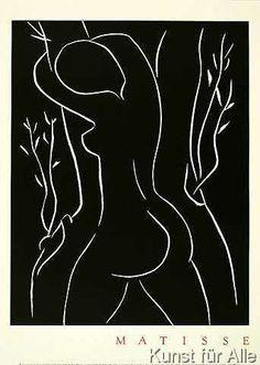 Henri Matisse - Pasiphae Embracing An Olive Tree - Bild - Poster -  Kunstdruck preiswert bestellen
