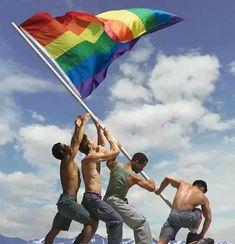 Fox Terriers, Robert Doisneau, Iwo Jima Photo, Ed Freeman, A Kind Of Magic, Happy Fourth Of July, Lgbt Rights, Flag Photo, Gay Art