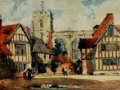 What did Shakespeare read?  The grammar school at Stratford-on-Avon. From Warwickshire, the land of Shakespeare.   Clive Holland. (1922)