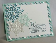 12 days of Stampin' Up Christmas projects from papermadeprettier. Day 3. http://www.papermadeprettier.blogspot.com/2013/11/12-days-of-stampin-up-christmas_8.html